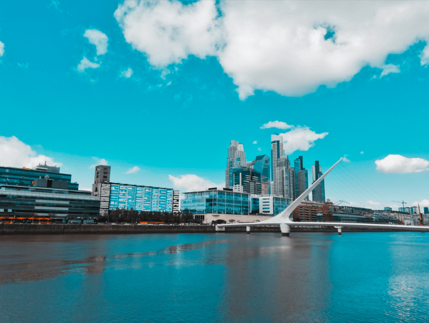 Puerto Madero, Buenos Aires.