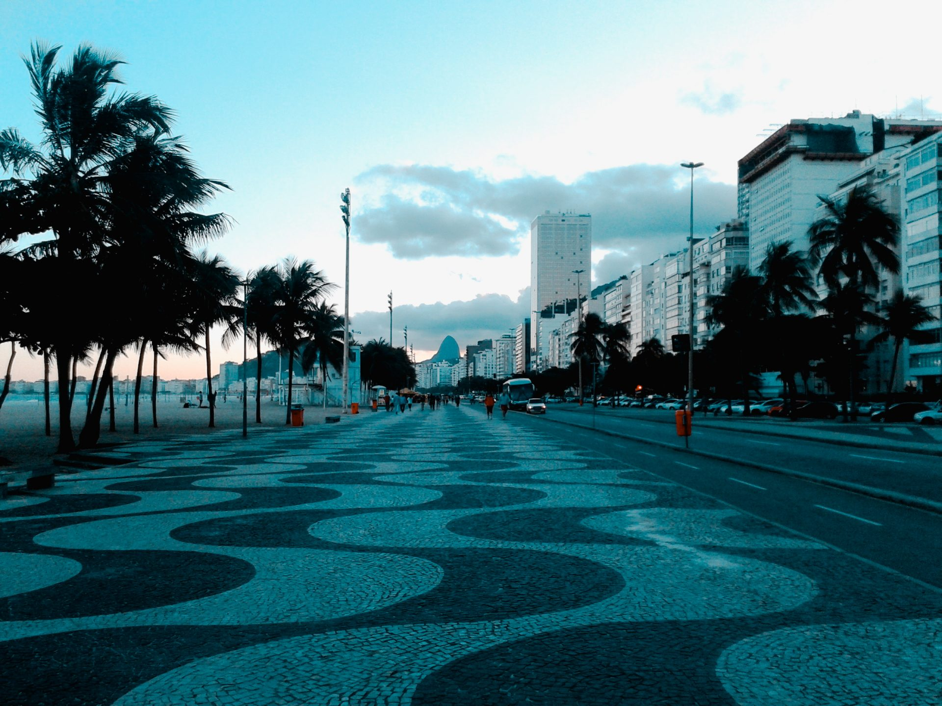 Copacabana, uno de los imperdibles de Río de Janeiro.
